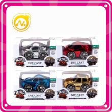 Pull Back Alloy Cartoon Toy Die-Cast Car 1: 36 Echelle