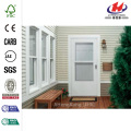 100 Series Bronze Self-Storing Storm Door