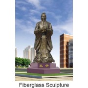Il cast figura famosa scultura-antico rame