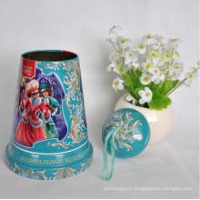 Rectangle Tissue Tin Box Christmas Promotion Cadeaux