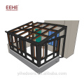 Customized Villa Container Glass Garden House