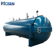 Factory production of carbon rubber industry oil heating curing autoclave china rubber autoclave