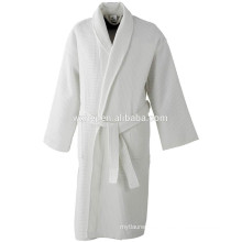 5 star w hotel waffle knee length bathrobe