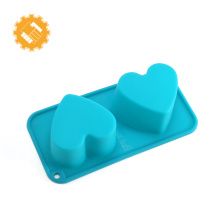 high quality customized logo cake mould silicone