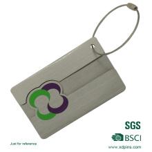 Tag de alumínio feito sob encomenda da identificação da bagagem do metal da venda quente