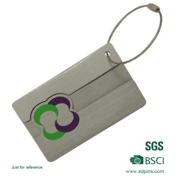 Горячее Сбывание изготовленный на заказ Алюминиевый металл Багажную бирку ID
