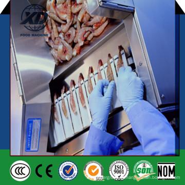 Máquina de descascar camarão venda quente semiautomática, deveiner camarão, descascador de camarão