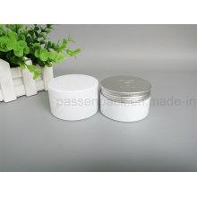 Animal de estimação branco empacotando o frasco com tampão plástico e de alumínio (PPC-75)