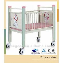 AG-CB004 Hot sales!!! hospital crib iron cot