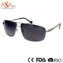 Gafas de sol polarizadas del diseñador de la calidad del metal de la manera con UV400 (16008)