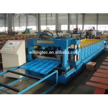 Construcción de la máquina de fabricación de azulejos desde la fabricación