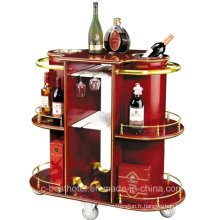 Hotel Wine Serving Cart Hôtel Liquor Trolley