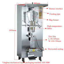 Water Milk Beverage Vinegar Liquid Automatic Water Pouch Packing Machine Cheap Price