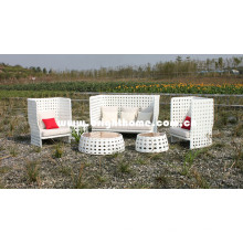 Loisirs Aluminium PE Rattan tissage meubles d'extérieur Bg-808