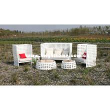 Алюминиевая плетеная мебель из плетеной мебели Bg-808