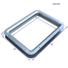 Mild Steel Square Vision Panels For Fire Doors