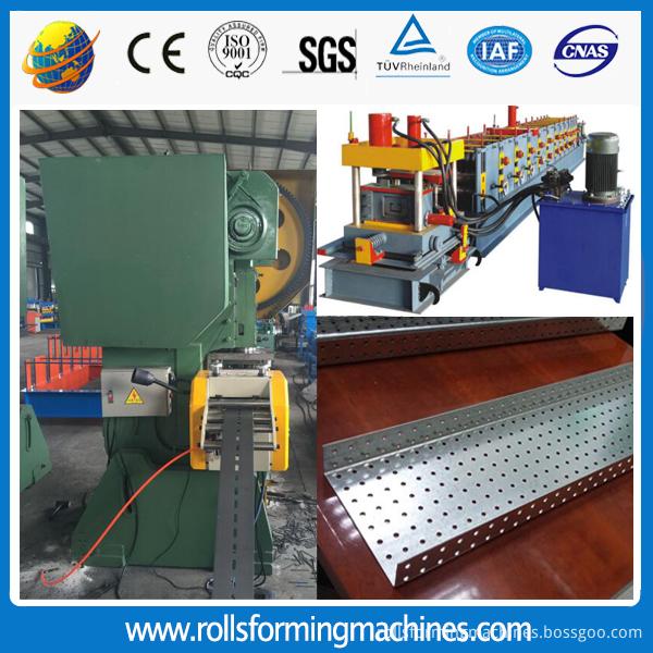 Lintel channel roll forming machine