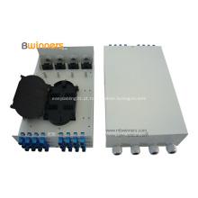 24 caixa de distribuição óptica da fibra óptica do SC dos núcleos