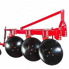 Tractor mounted power pto disc plow rotary plough
