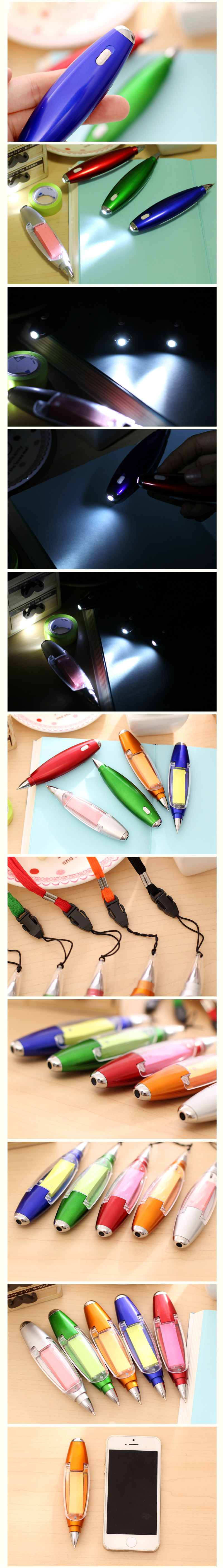 Novelty Pen with Led Light