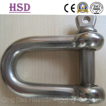 Ss316 JIS Type D Shackle, European Large Dee Shackle, Straight