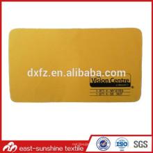 Paño de la lente de Microfiber de la impresión bicolor del precio bajo; Paño de limpieza de microfibra para gafas