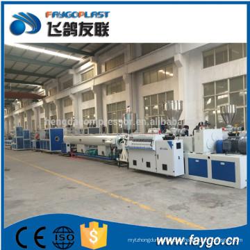 Máquina de extrusión de tubos de PVC Faygo