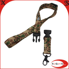 Promotion Custom Printing Flash Drive Polyester Lanyard