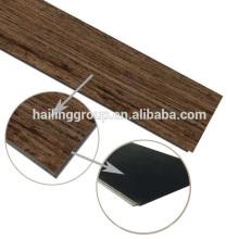 Tablón de suelo de vinilo de venta caliente con sistema de clic fabricado en China