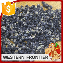 2016 Hot sale sun dried drying process black goji berry