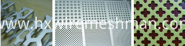 stainless steel punched metal