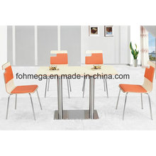 Wholesale 4 Seaters Dining Restaurant Table Set (FOH-BC43)