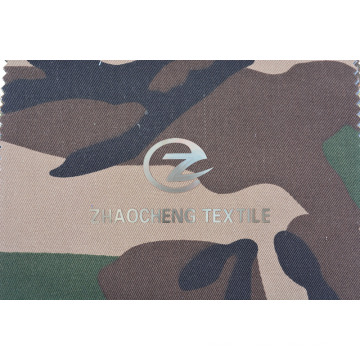 T/C65/35 2/2 Twill Fabric with Desert Camouflage for Vest (ZCBP270)