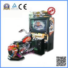 Máquina de jogo quente da arcada do simulador da motocicleta da venda (motor de Harlly)