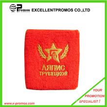 Stickerei Baumwolle Großhandel Terry Sport Schweißbänder (EP-W9018B)