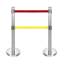 Hot Sell Public Safety 2M Crowd Control Barrier, Stanchions Queue Retractable Belt Barrier/