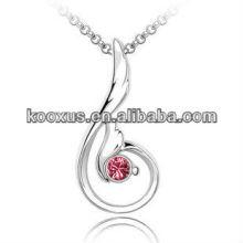 Австрия кристалл горный хрусталь кулон ожерелье ювелирные изделия оптом