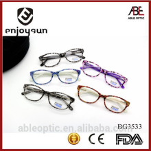 2015 HOTSELLING Multi color fashion students acetate hand made spectacles optical frames eyewear eyeglasses