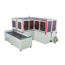 Automatic case making machine for collapsible box