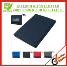 Promotional Custom Travlling Foldable Fleece Blanket