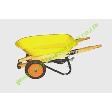 wooden handle with handbrake,child's wheelbarrow WH0203
