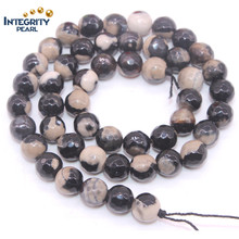Природные Gemstone Loose Strands Размер 6 8 1012 мм Факт Loose Natural Slice Agate