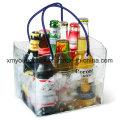 Bolso plástico refrigerador de la botella de cerveza del plástico promocional