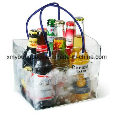 Рекламные пластиковые жесткие воды бутылка пива бутылка мешок