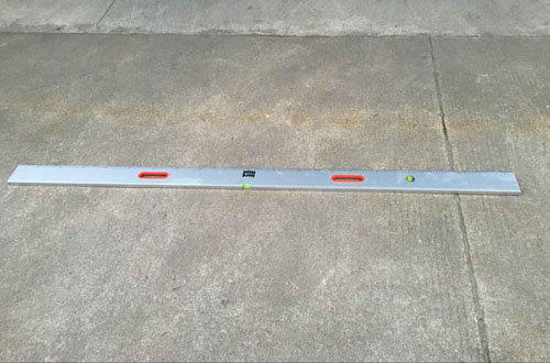 Aluminum Screeding Level with Vail