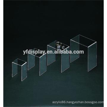 Clear Acrylic Display Rack with Custom Design