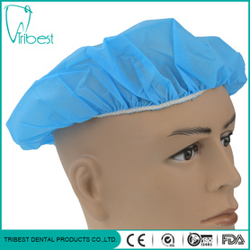 Disposable Medical Non-Woven Bouffant Round Cap