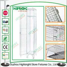Construcción campo una puerta alambre malla armario armario