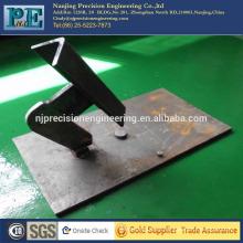 Cnc de alta precisión de mecanizado de aleación de acero partes mecánicas de acero
