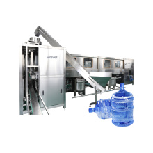Simple Design Drinking Water 3-5 Gallon Water Filling Machine Bottling Production Plant
